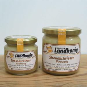 Streuobstblüten Honig aus naturnah angelegten Streuobstwiesen