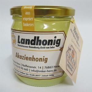 Deutscher Akazienhonig direkt vom Imker kaufen