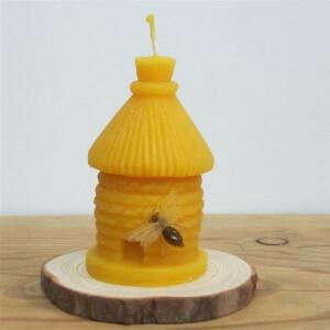 Kleines Bienenhaus aus 100% Bienenwachs
