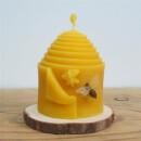 Großes Bienenhaus aus 100% Bienenwachs